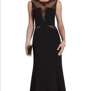 Black sachie BCBG dress